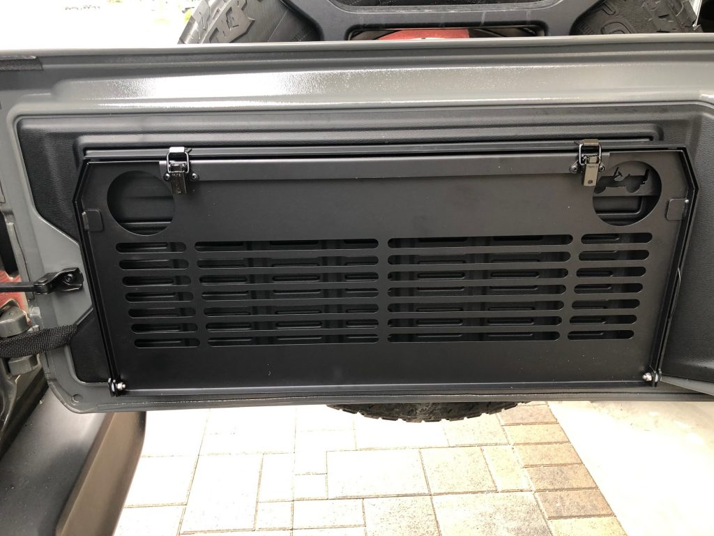 Jeep JL Door Tray Closed