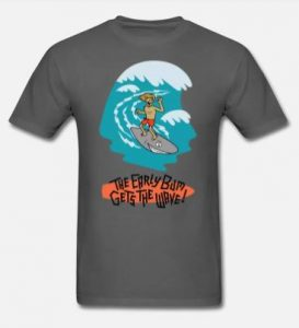 EarlyBum.Com T-shirts, Surf and Sport