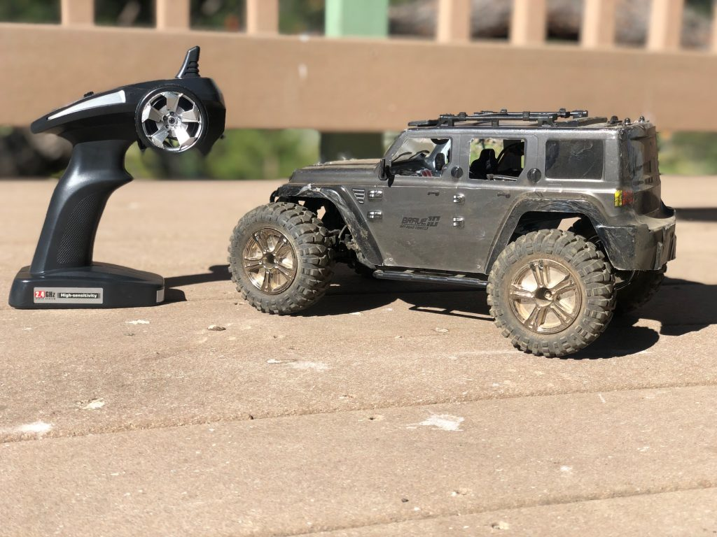 RC Jeep on Deck RCatHome